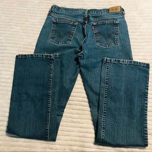 Levi's 515 Stretch Bootcut size 10 Long Tall